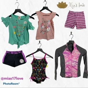 Justice Lot Girls clothing size 7-10 ropa de…